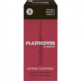 Plasticover by D'Addario Soprano Saxophone Reeds 2, 5 pack