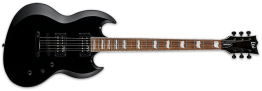 ESP LTD Viper 201B Electric Baritone Guitar, Black