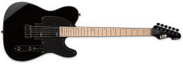 ESP LTD TE-200 Electric Guitar with Maple Neck, Black
