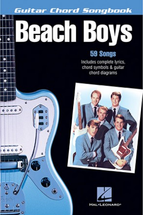 Books > Hal Leonard - The Beach Boys - Guitar Chord Songbook - photo#37