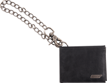 Gretsch® Limited Edition Leather Wallet with Chain, Black
