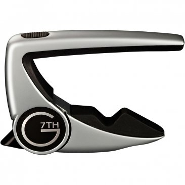 G7th Performance 2 Guitar Capo - Silver