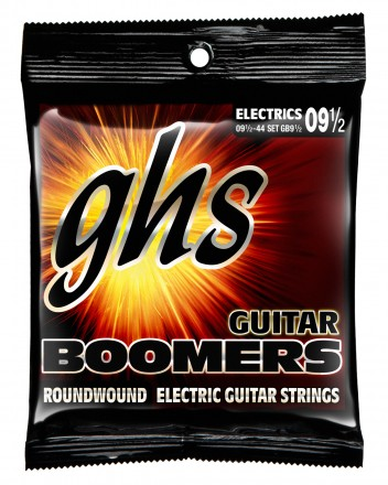 GHS GB9.5 Guitar Boomers Roundwound Extra Light +, 9.5-44