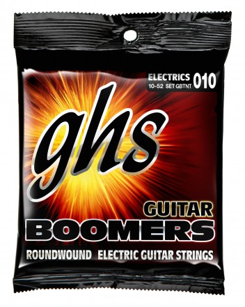 GHS GBTNT Guitar Boomers Roundwound Thin-Thick, 10-52